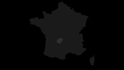 Carte / Corrèze