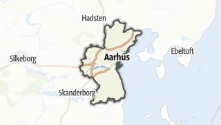 Hartă / Århus