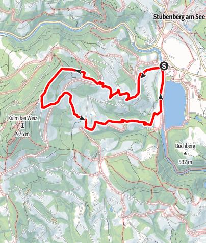 Karte / Kulmweg