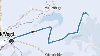 Karte / Kammloipe Start Schöneck