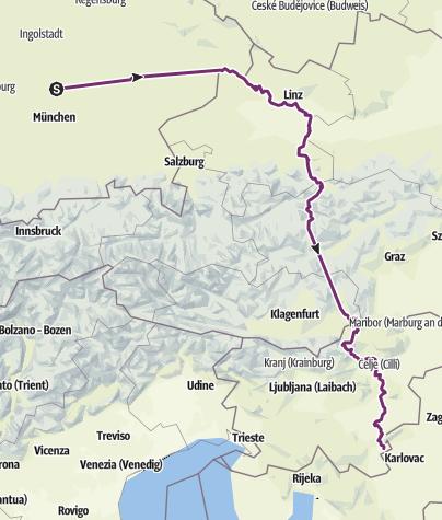 Карта / Anfahrt Kroatien