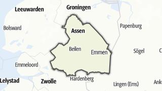 Karte / Drenthe
