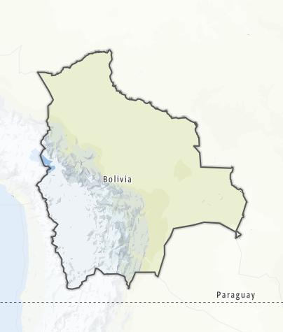 Map / Bolivia