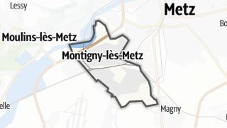 Mapa / Montigny-lès-Metz