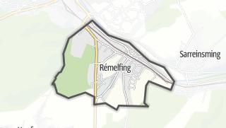 Mapa / Rémelfing