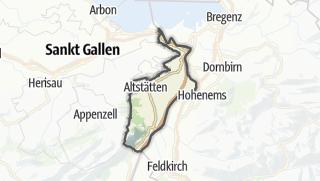 Karte / Rheintal