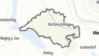 地图 / Kirchanschöring