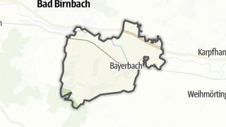 Mapa / Bayerbach