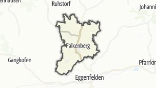 Mapa / Falkenberg