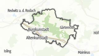 Cartina / Burgkunstadt