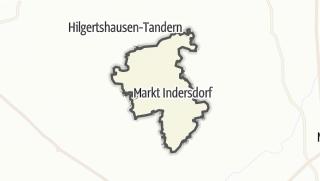 Mapa / Markt Indersdorf