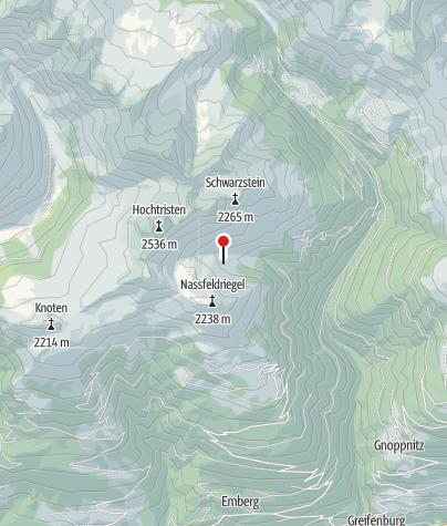 Karte / Kaserleiten 1875 m