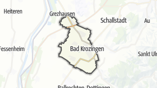 地图 / Bad Krozingen