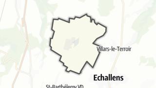 Карта / Goumoens-la-Ville