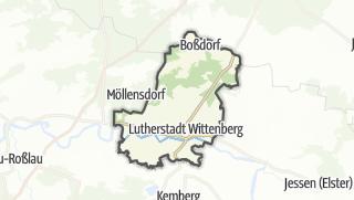 Mapa / Lutherstadt Wittenberg