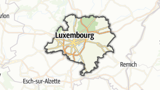 Hartă / Luxemburg