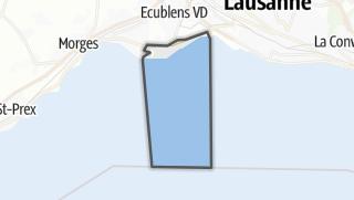 Mapa / Saint-Sulpice (VD)