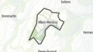 Карта / Villars-Mendraz