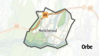 Карта / Montcherand