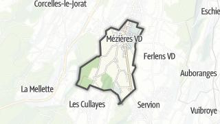 Карта / Mézières (VD)