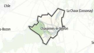 Карта / Chavannes-le-Veyron