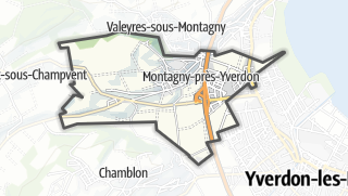 Cartina / Montagny-près-Yverdon