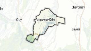 Карта / Arnex-sur-Orbe