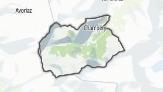 Térkép / Champéry