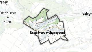 Cartina / Villars-sous-Champvent