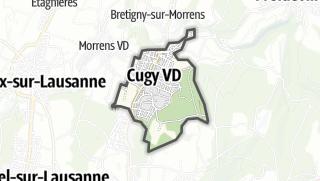 Карта / Cugy (VD)