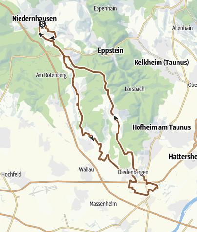 Karte / Sbt 19042014 RheinMainPark Kiesgrube Weilbach