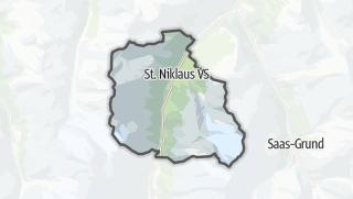 מפה / Sankt Niklaus