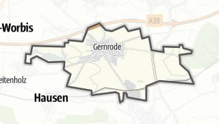 Map / Gernrode