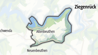 Cartina / Altenbeuthen