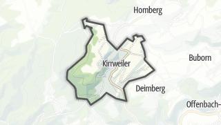 Karte / Kirrweiler