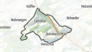 Karte / Quirnbach/Pfalz