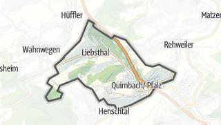מפה / Quirnbach/Pfalz