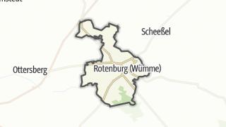 Cartina / Rotenburg (Wümme)
