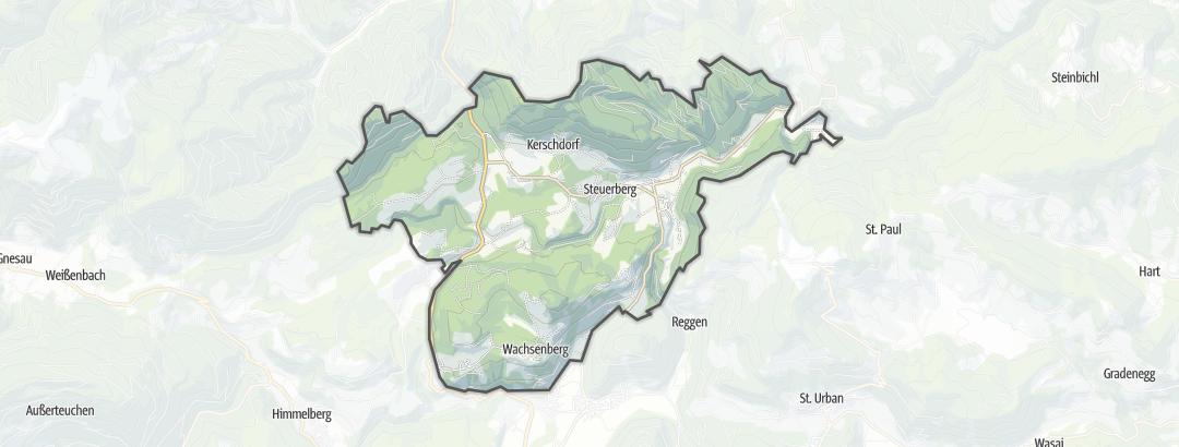 Hartă / Drumeţii in Steuerberg