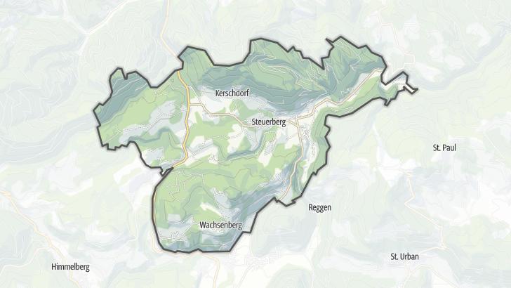 Mapa / Steuerberg
