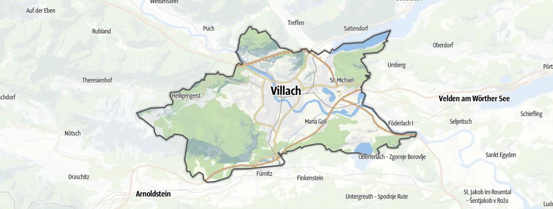Mappa / Trekking a Villaco (città)