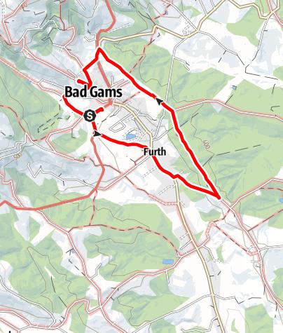 Karte / Genuss - Spazierrundweg