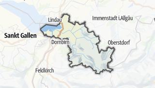 Mapa / Bregenz
