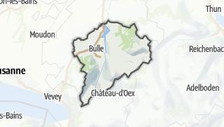 Karte / La Gruyère