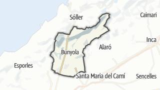 Map / Bunyola