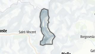 Karte / Monte Rosa Walser