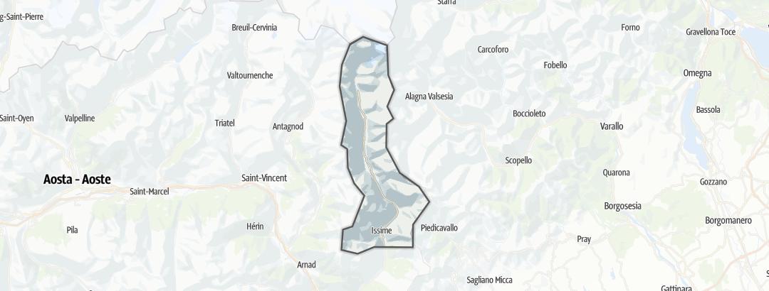 Карта / Mount Rosa Walser