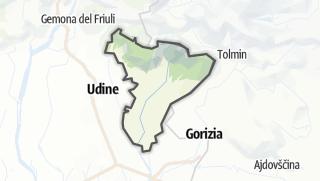 Karte / Cividale, Valli Natisone