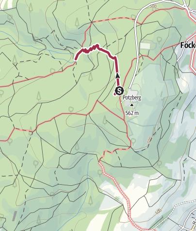 Map / Potzberg: Idyllischer Naturpfad zur Stollenquelle
