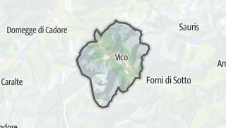 מפה / Forni di Sopra